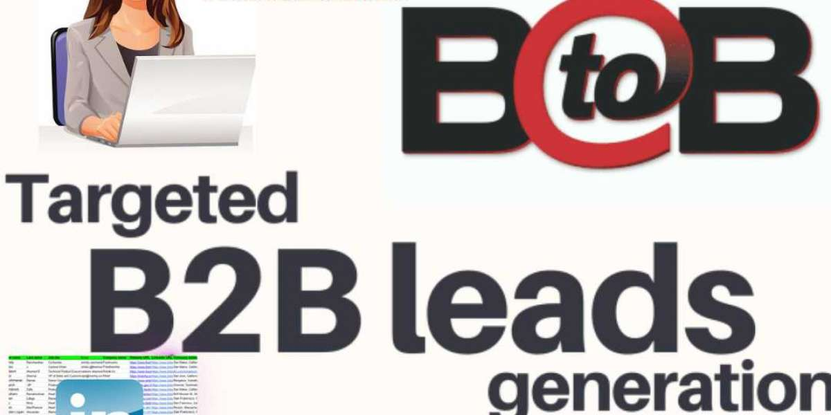 How do I generate b2b leads data for a B2B business?