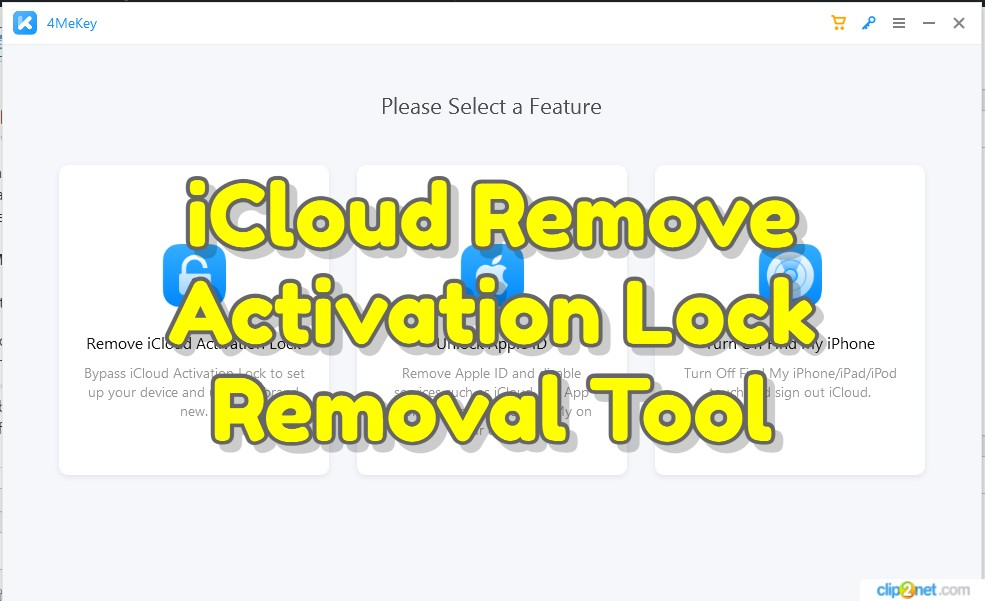 iCloud Remove Activation Lock Removal Tool