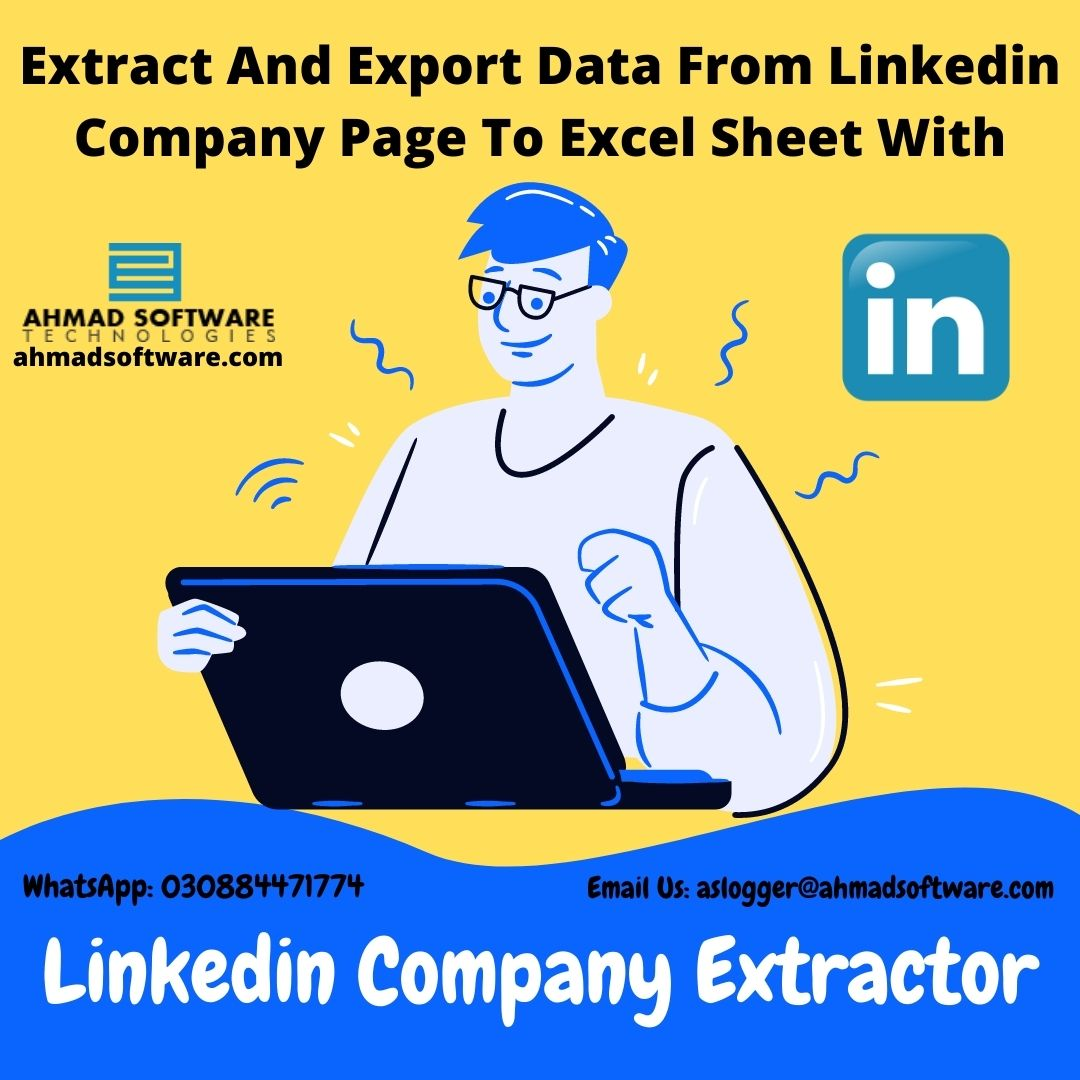 Is There Any Tool To Export Data From A LinkedIn Company Page?